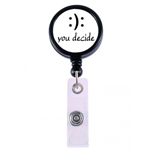Porte Badge Enrouleur You Decide