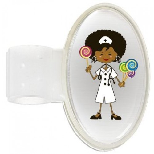 Badge Stéthoscope Candy Nurse