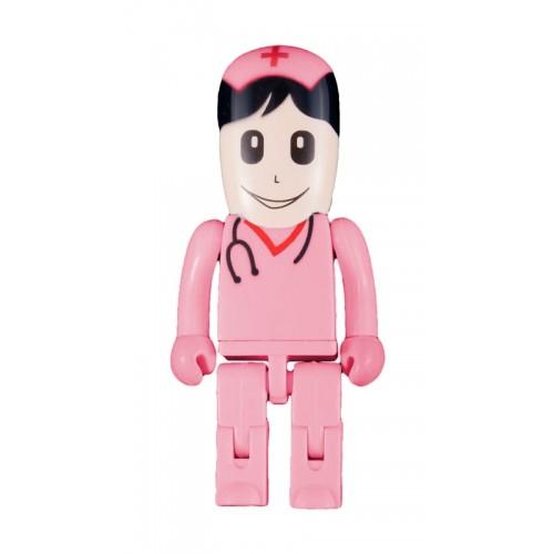 Clé USB Infirmière Rose