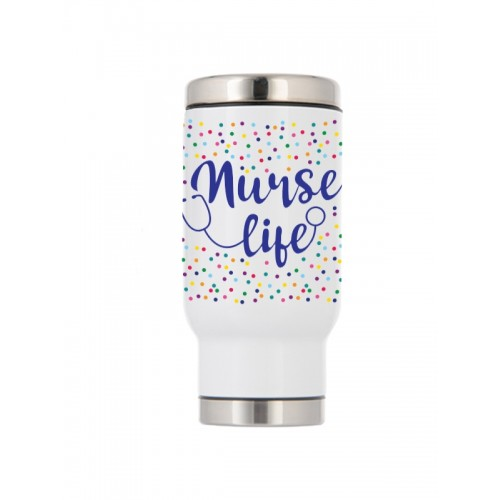 Mug Isotherme Thermique Nurse Life